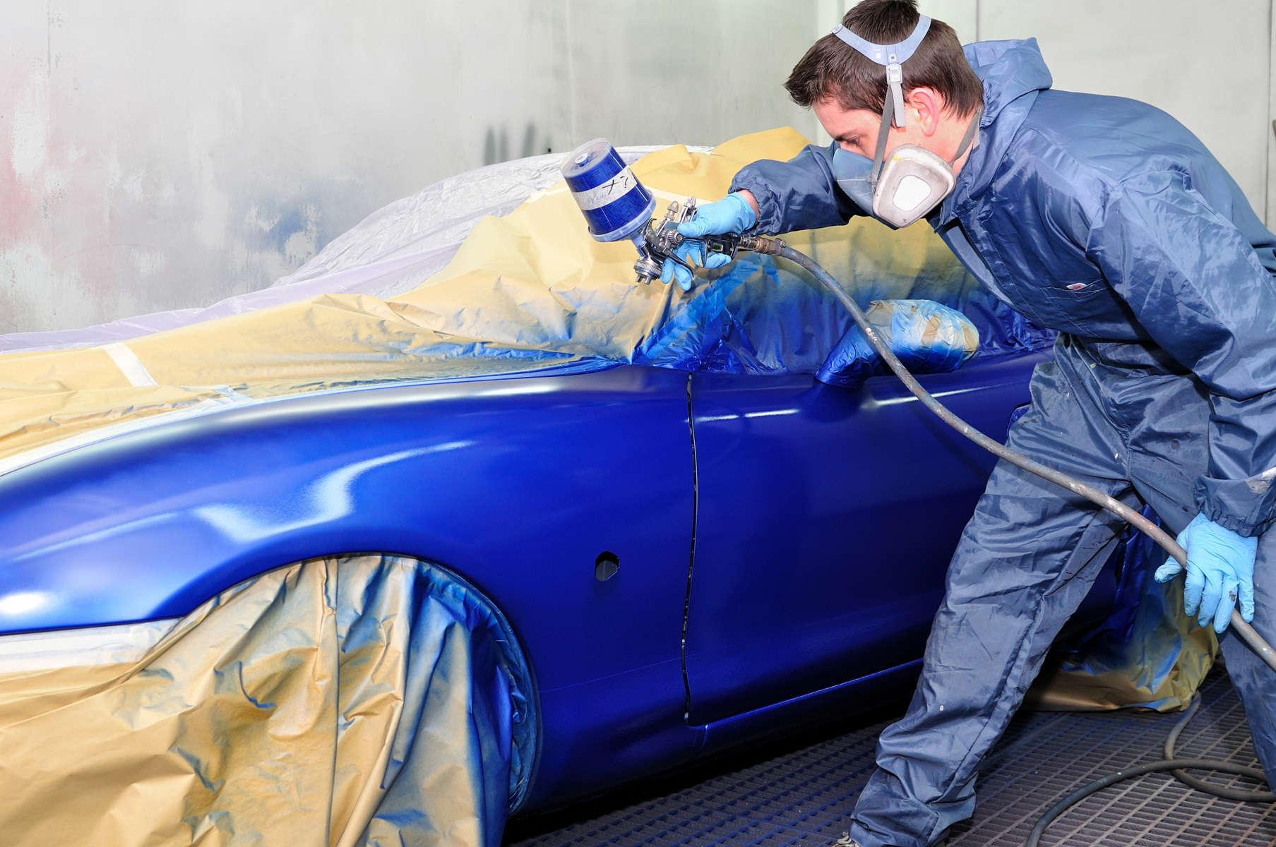El sector automovilístico, indispensable para el de la pintura